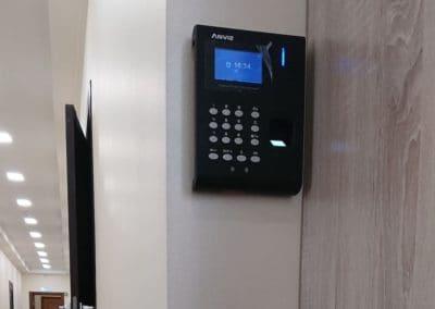 Биометрическая система контроля и управления доступом